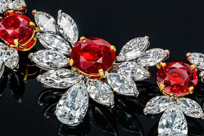 Рубин и бриллиант