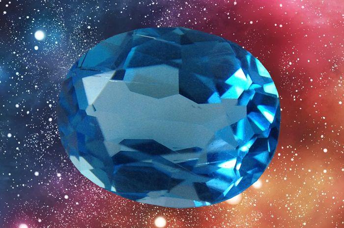 Особенности камня голубой топаз